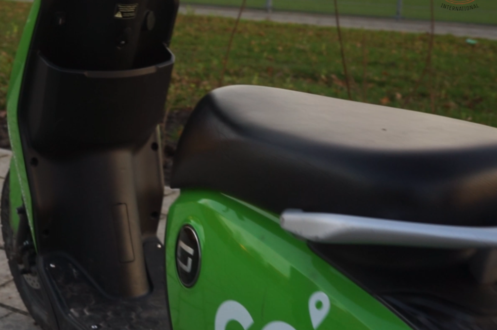 scooter sharing in Groningen